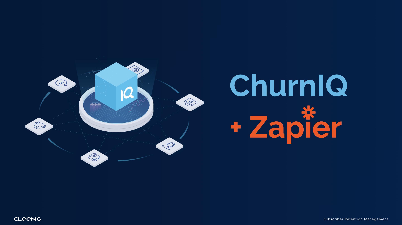 ChurnIQ and Zapier for marketing automation