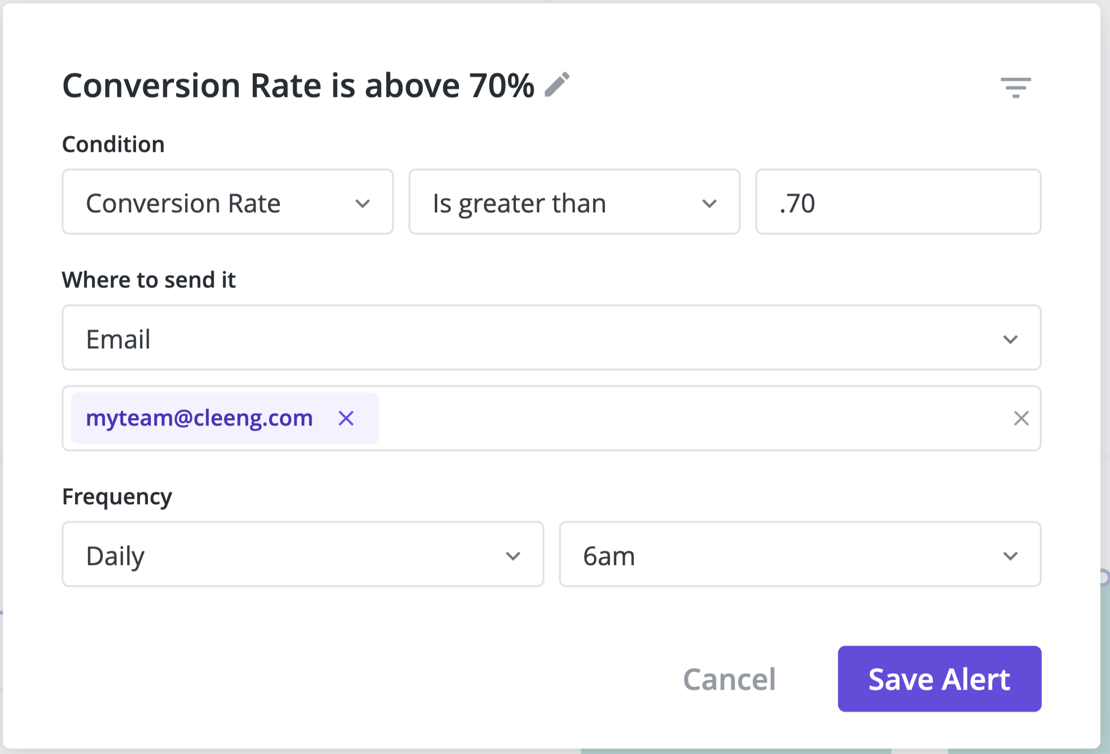 Subscrriber conversion rates